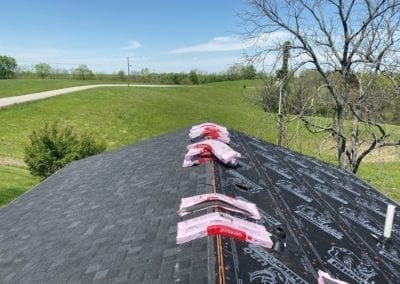 Before and After - New Roof Installation